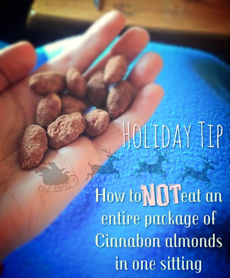 cinnabon almonds